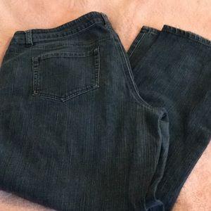 Ana straight leg jeans size 20w